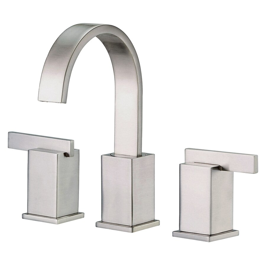 Danze Sirius Brushed Nickel 2-Handle Widespread Bathroom Faucet (Drain Included)
