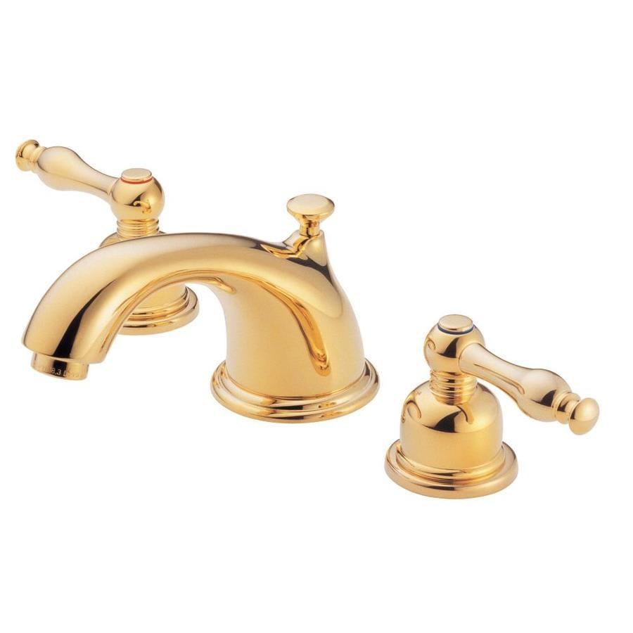 Danze Sheridan Polished Brass 2 Handle Widespread Watersense