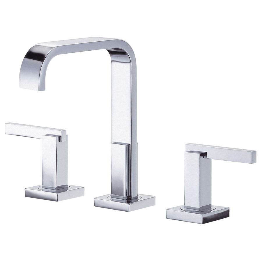 Danze Sirius Chrome 2-Handle 4-in Mini Widespread Bathroom Faucet (Drain Included)