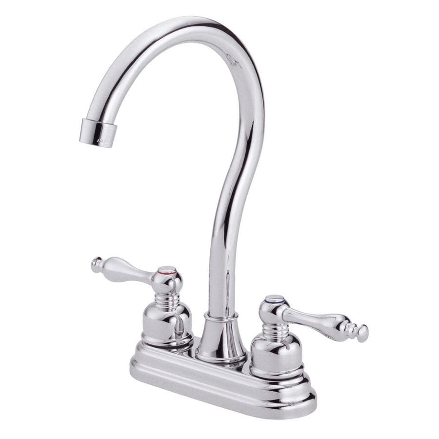 Danze Sheridan Chrome 2-Handle Bar and Prep Faucet