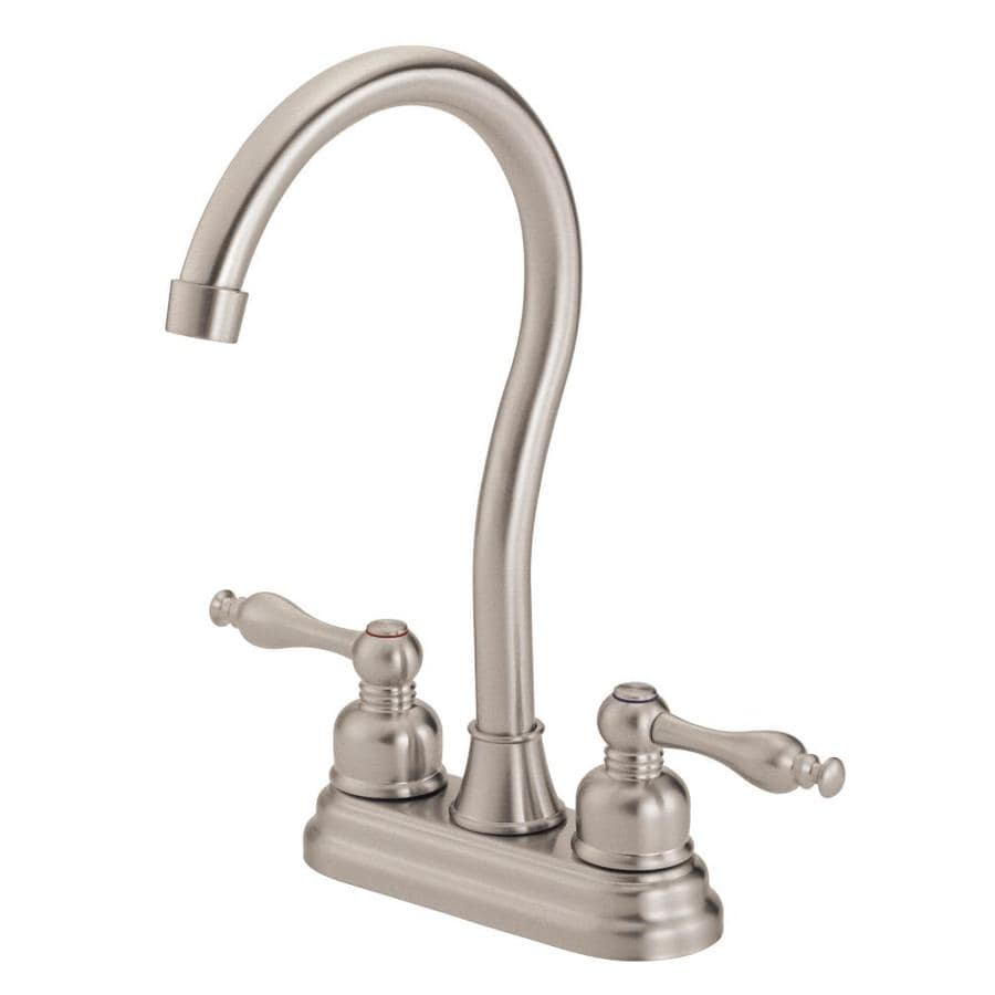 Danze Sheridan Stainless Steel 2-Handle Bar and Prep Faucet