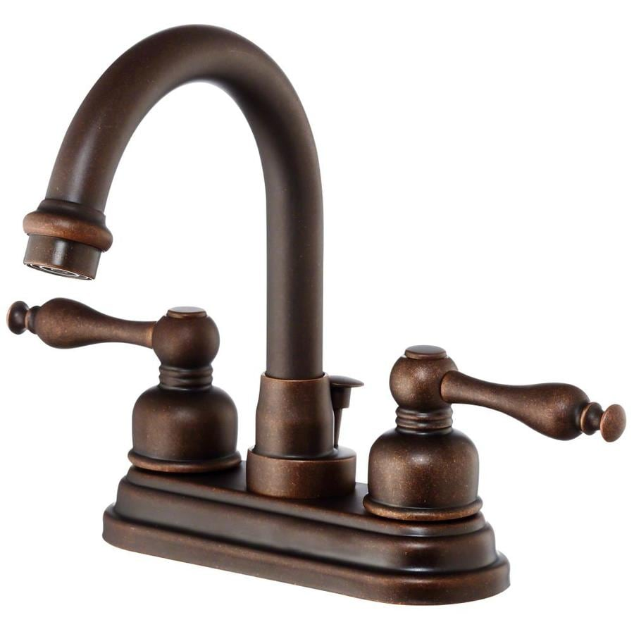 Shop Danze Sheridan Oil Rubbed Bronze 2 Handle 4 In Centerset Bathroom Sink Faucet At