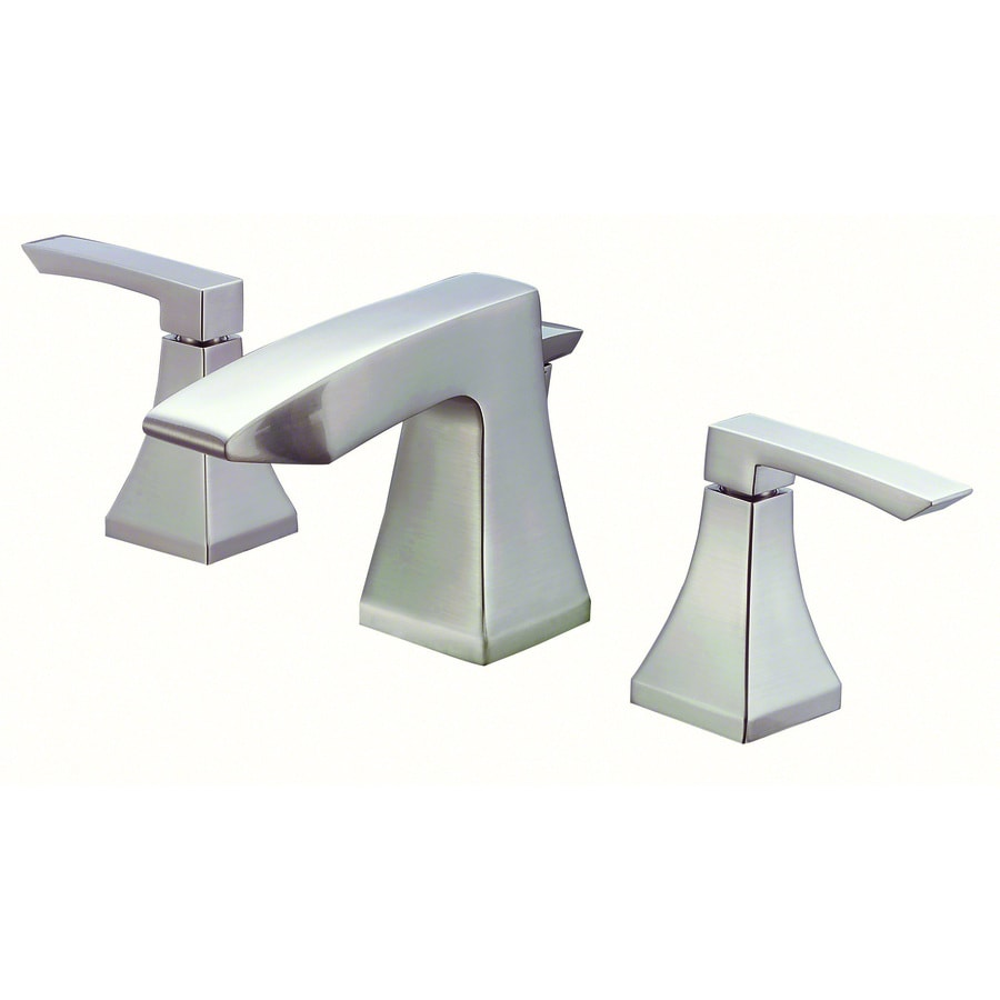 Bathroom Faucets Brushed Nickel Widespread : ... Brushed Nickel 2-Handle 4-in Mini Widespread WaterSense Bathroom