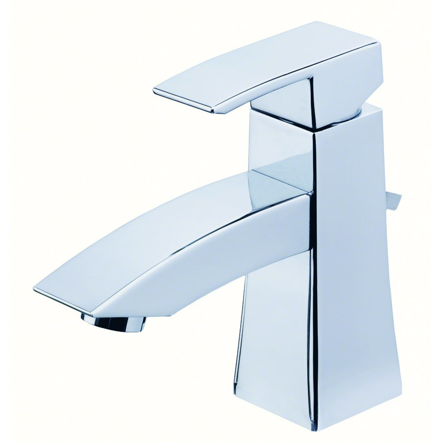 Danze Logan Square Chrome 1-Handle Single Hole WaterSense Bathroom Faucet