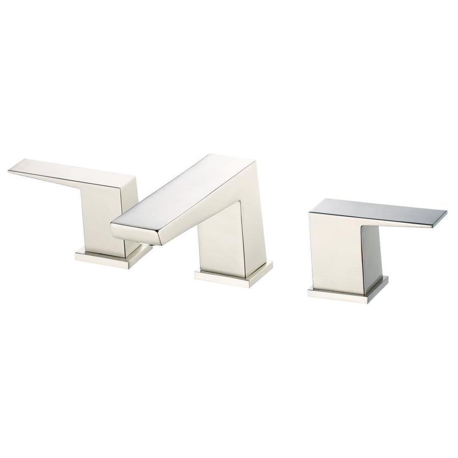 Danze Mid-Town Brushed Nickel 2-Handle Deck Mount Bathtub Faucet