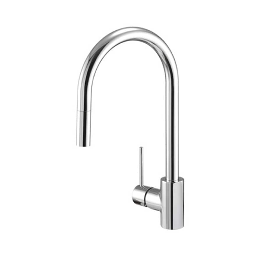 danze pull down kitchen faucet shop danze citron chrome 1 handle pull kitchen faucet 23445
