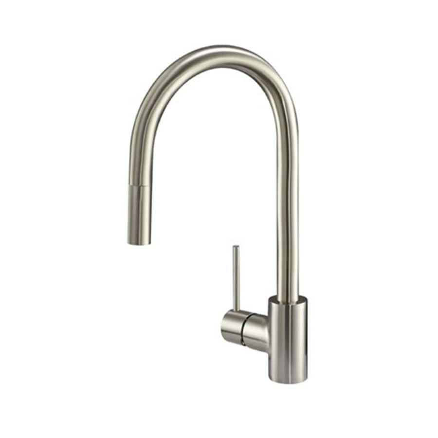 Danze Citron Stainless Steel 1 Handle Deck Mount Pull Down Kitchen Faucet