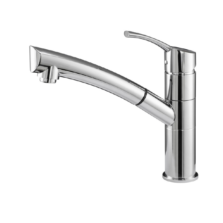 Danze Lime Light Chrome 1-Handle Pull-Out Kitchen Faucet