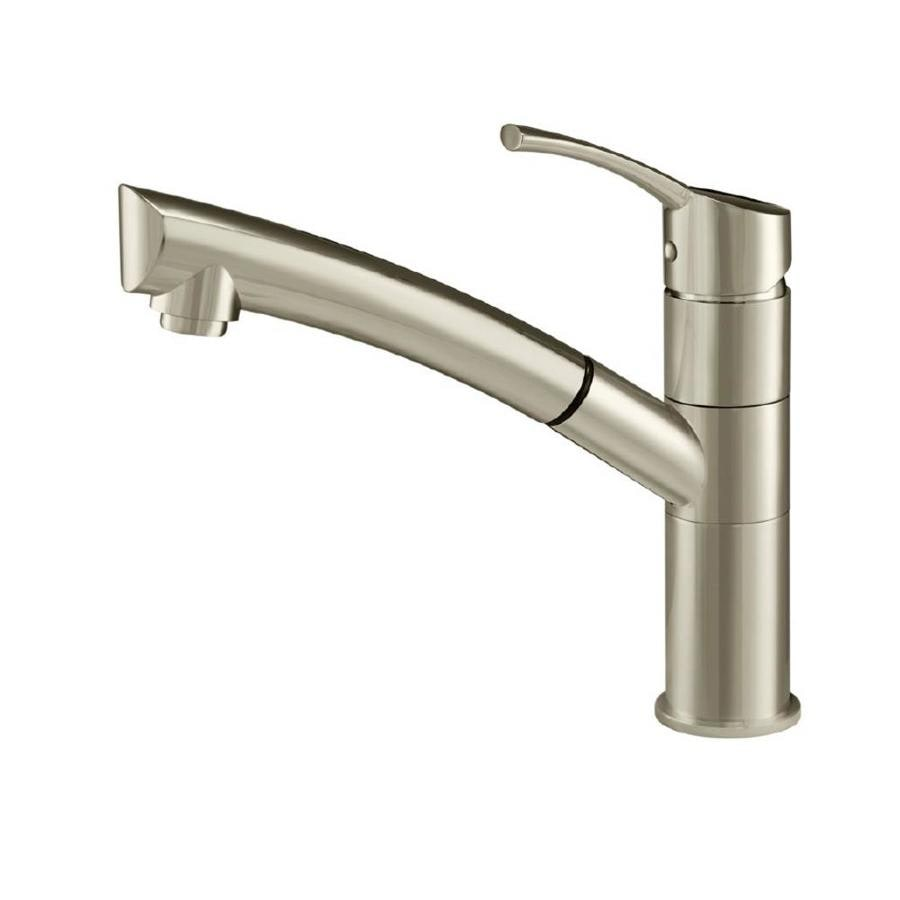 Danze Kitchen Faucet : Shop Danze Lime Light Stainless Steel 1-Handle Pull-Out Kitchen Faucet ...