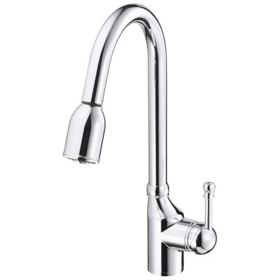 Danze Melrose Chrome 1-handle Deck Mount Pull-down Kitchen ...