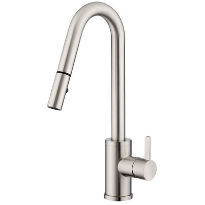 Danze Amalfi Stainless Steel 1 Handle Deck Mount Pull Down