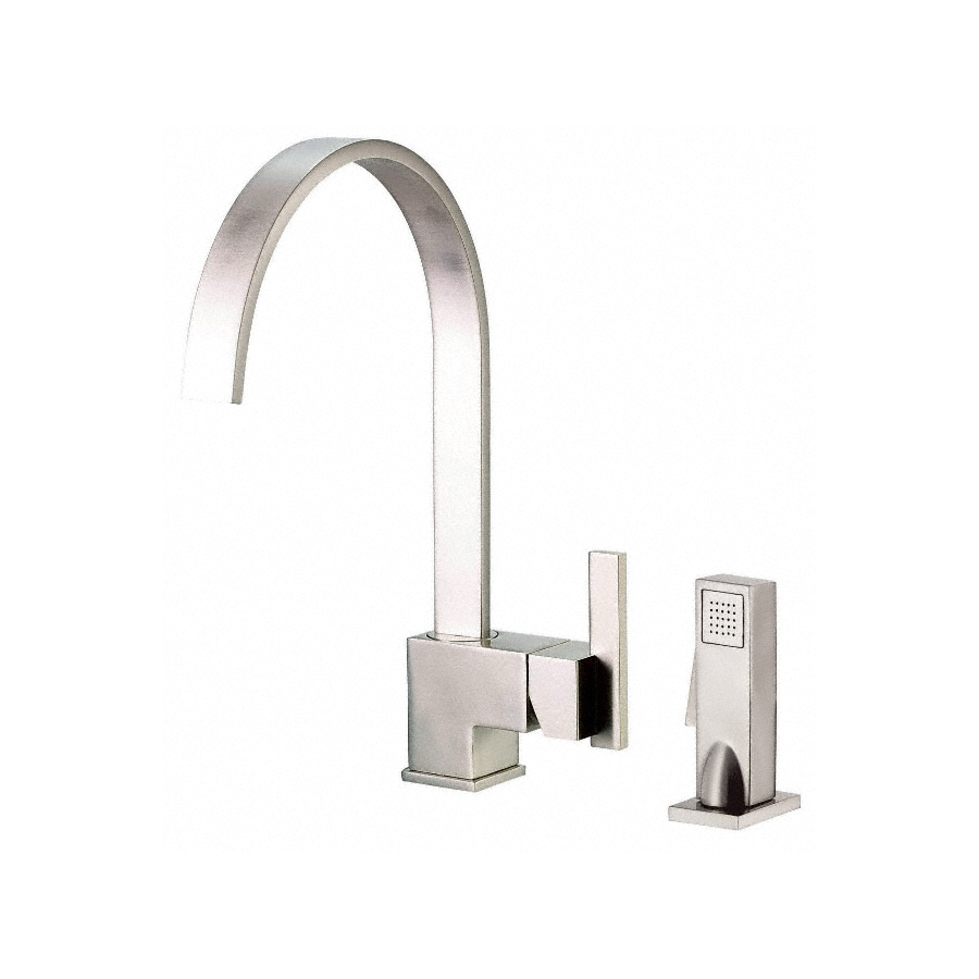 Danze Sirius Stainless Steel 1-Handle High-Arc Kitchen Faucet