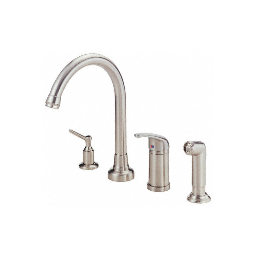 Danze Melrose Kitchen Faucet Shop Danze Melrose Stainless Steel 1 Handle High Arc Kitchen