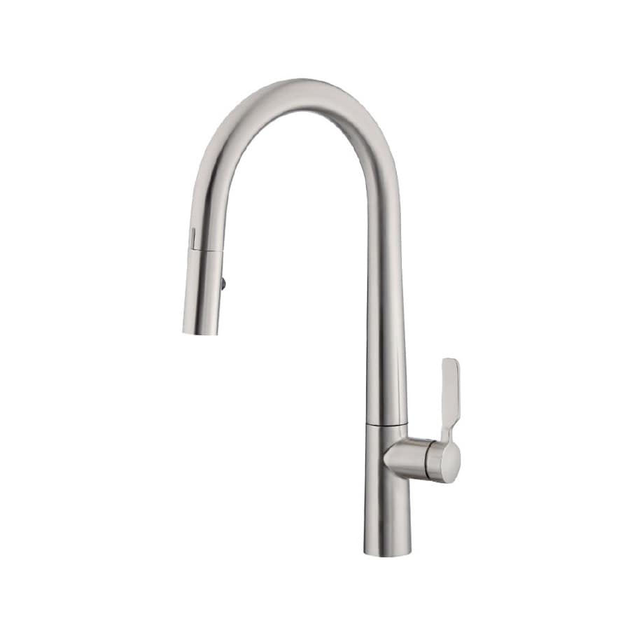 did u wave stainless steel 1 handle pull down touchless kitchen faucet