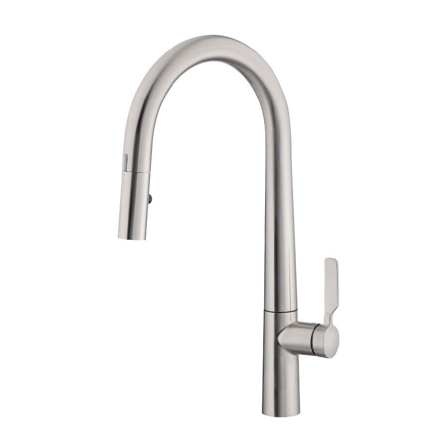 Danze Did-U-Wave Stainless Steel 1-Handle Pull-Down Touchless Kitchen Faucet