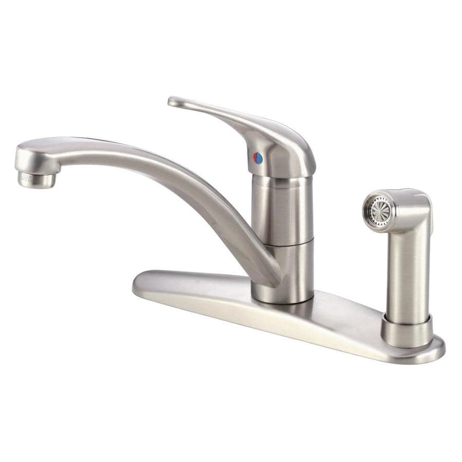 shop danze melrose stainless steel 1 handle low arc
