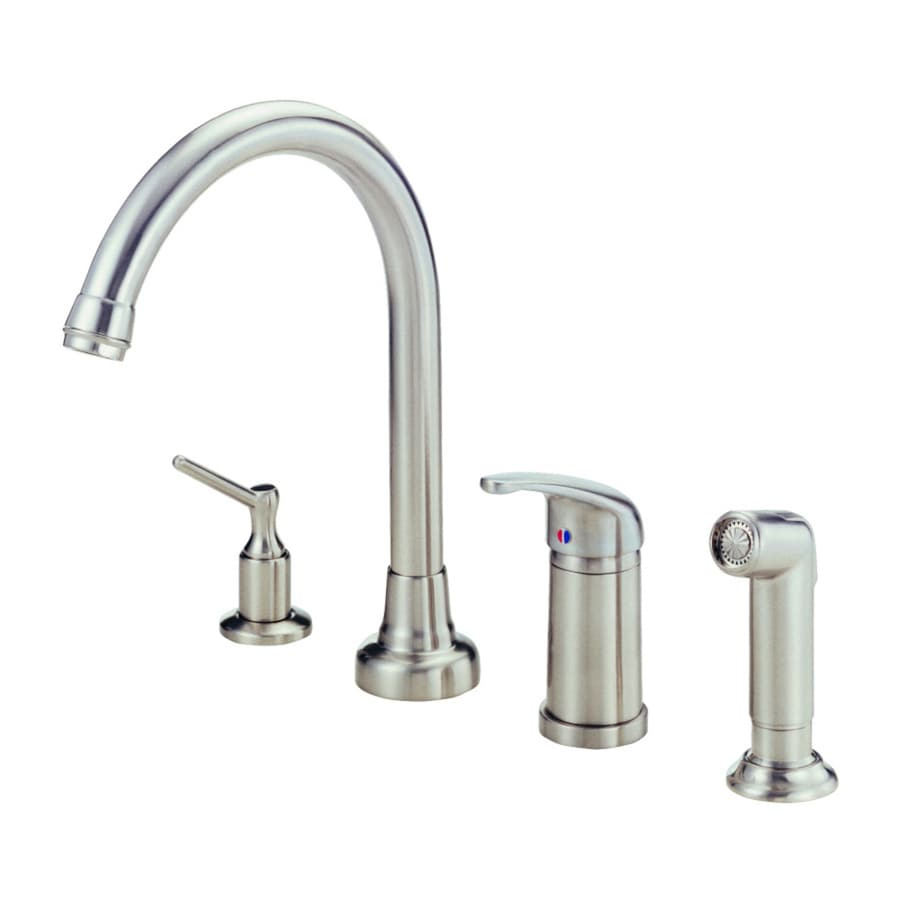 One Hole Single Lever High Arc Kitchen Faucet