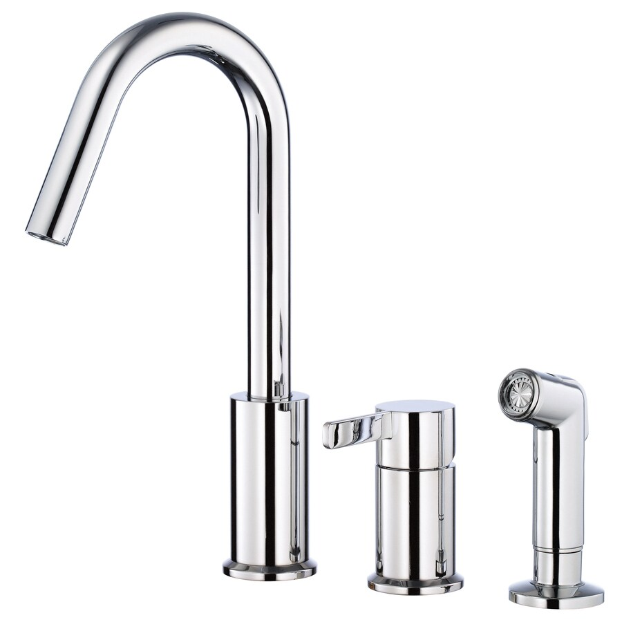 Danze Amalfi Chrome 1-Handle High-Arc Kitchen Faucet
