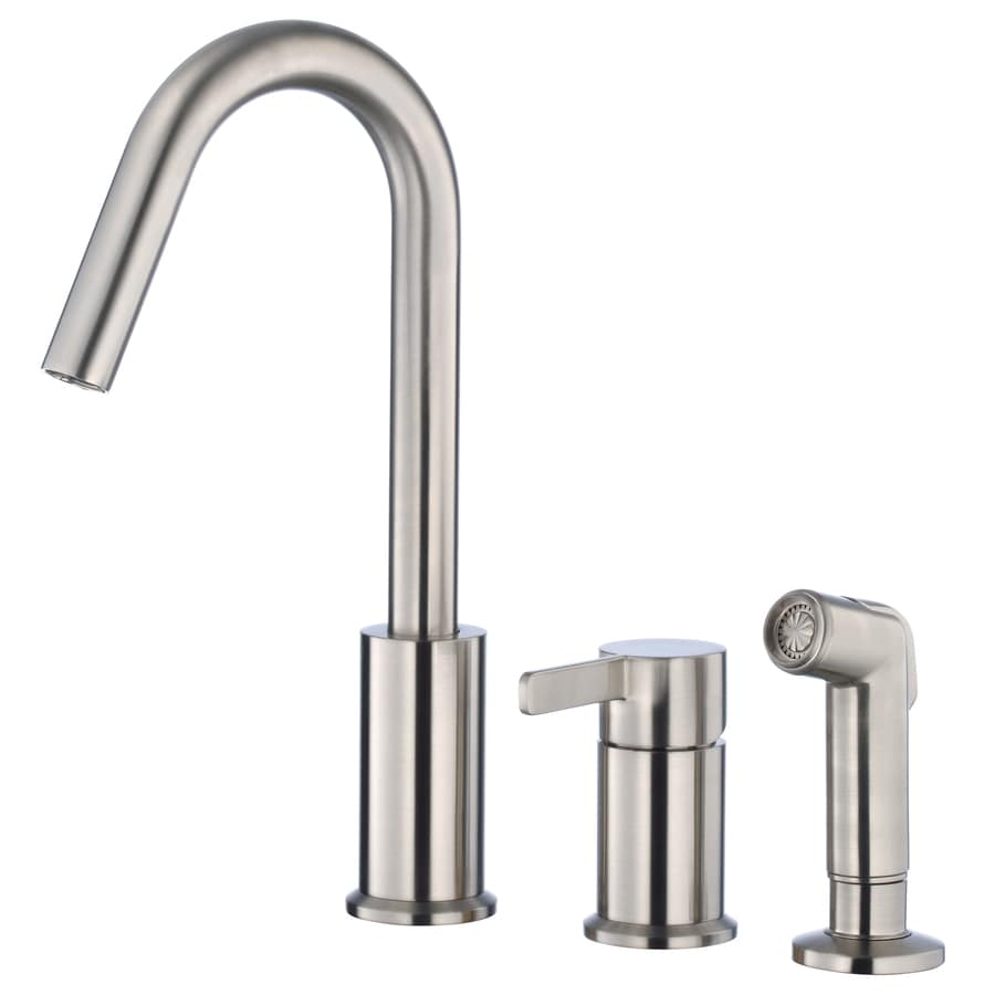 Danze Amalfi Stainless Steel 1-Handle High-Arc Kitchen Faucet