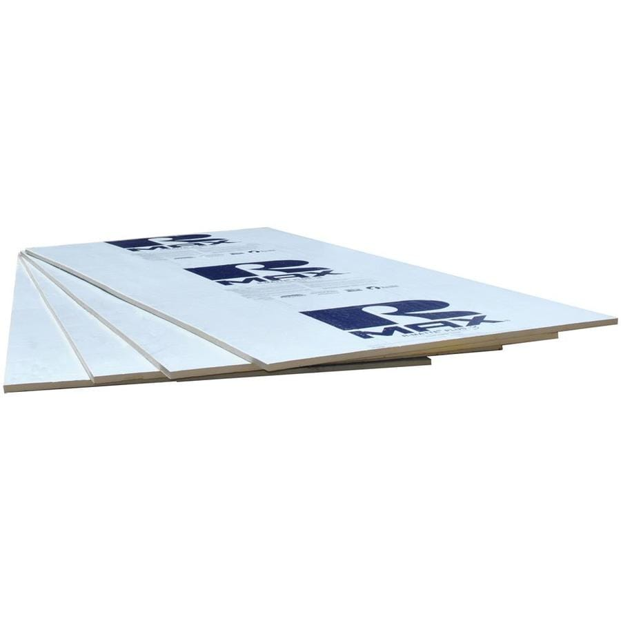 Rmax Polyisocyanurate Foam Board Insulation (Common: 0.5-in x 4-ft x 8-ft; Actual: 0.5-in x 4-ft x 8-ft)