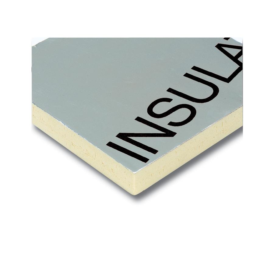 Rmax Polyisocyanurate Foam Board Insulation Common 2 In X 4 Ft