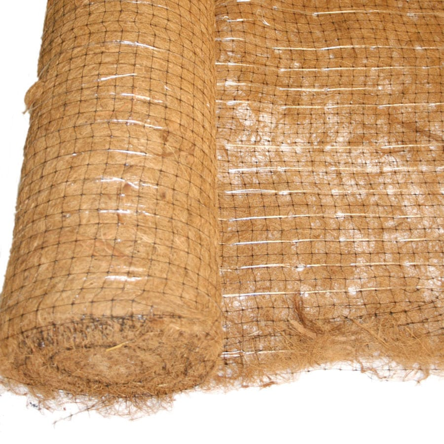 Hanes Geo Components 112.5-ft x 96-in Coconut Biodegradable Blanket