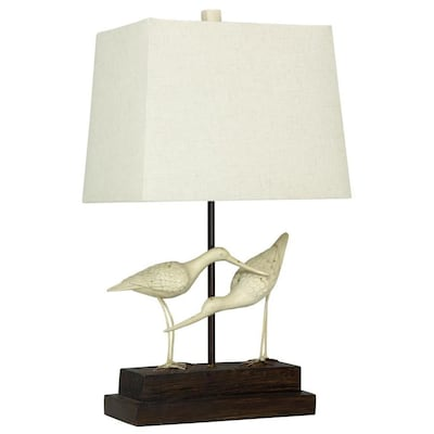 Stylecraft Home Collection 28 In Sandpiper 3 Way Table Lamp