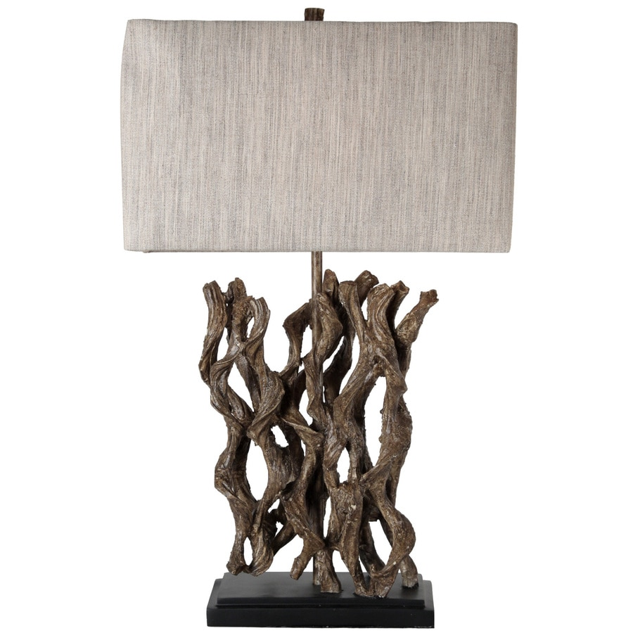 StyleCraft Home Collection 27.5-in Longrow Standard 3-Way Switch Table Lamp with Fabric Shade