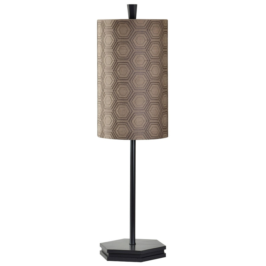 StyleCraft Home Collection 33-in Turin Standard 3-Way Switch Table Lamp with Fabric Shade