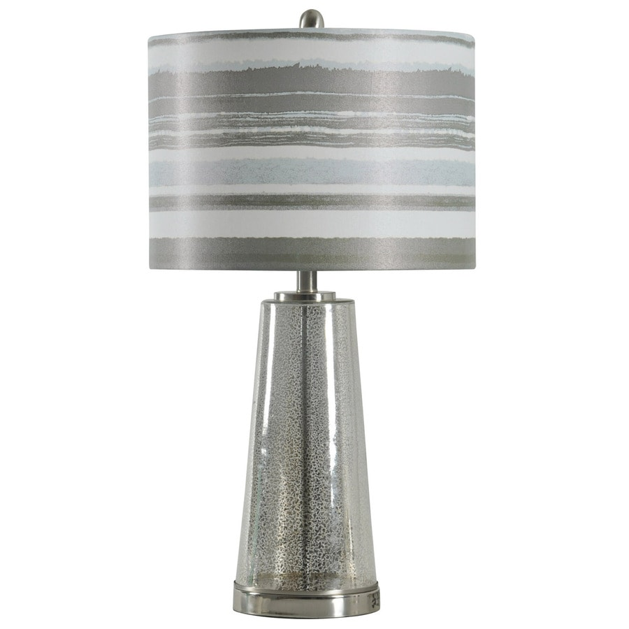 StyleCraft Home Collection 29-in Ventura Standard 3-Way Switch Table Lamp with Fabric Shade