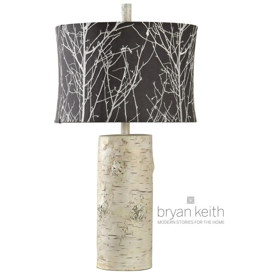 StyleCraft Home Collection 30-in Berkeley Standard 3-Way Switch Table Lamp with Fabric Shade