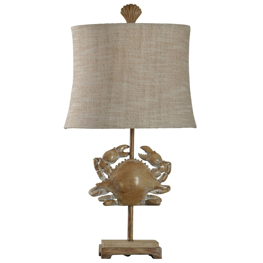 StyleCraft Home Collection 28-in 3-Way Lakeport Indoor Table Lamp with Fabric Shade