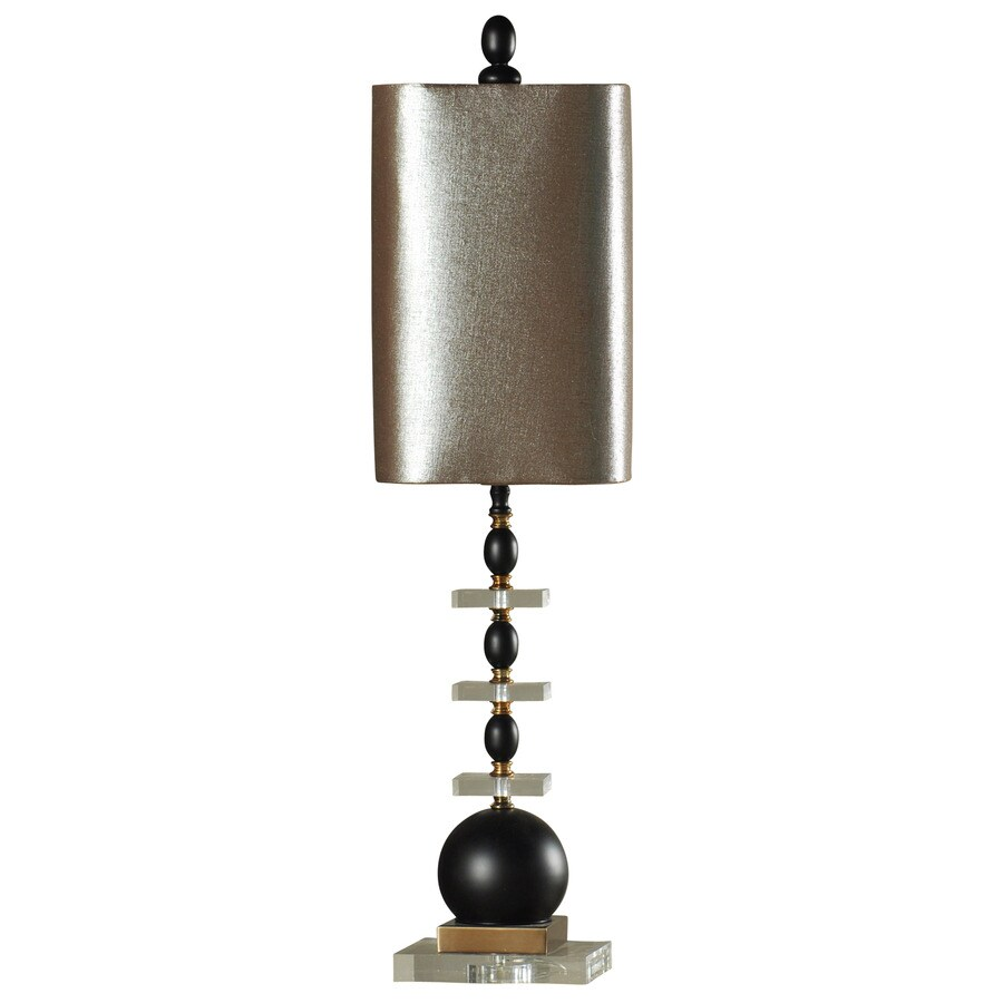 StyleCraft Home Collection 34-in Winnett Standard 3-Way Switch Table Lamp with Fabric Shade