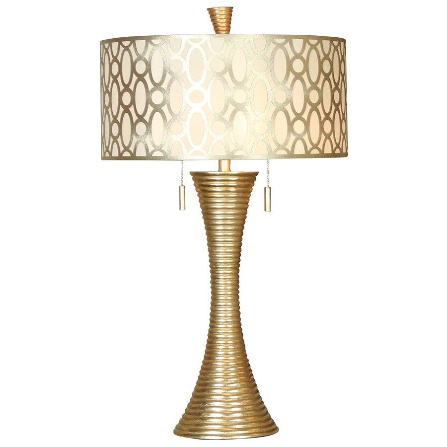 Merveilleux StyleCraft Home Collection 37 In Silanti Table Lamp With Fabric Shade