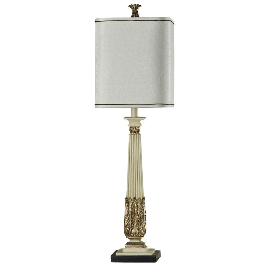 StyleCraft Home Collection 38-in 3-Way Switch Armidale Indoor Table Lamp with Fabric Shade