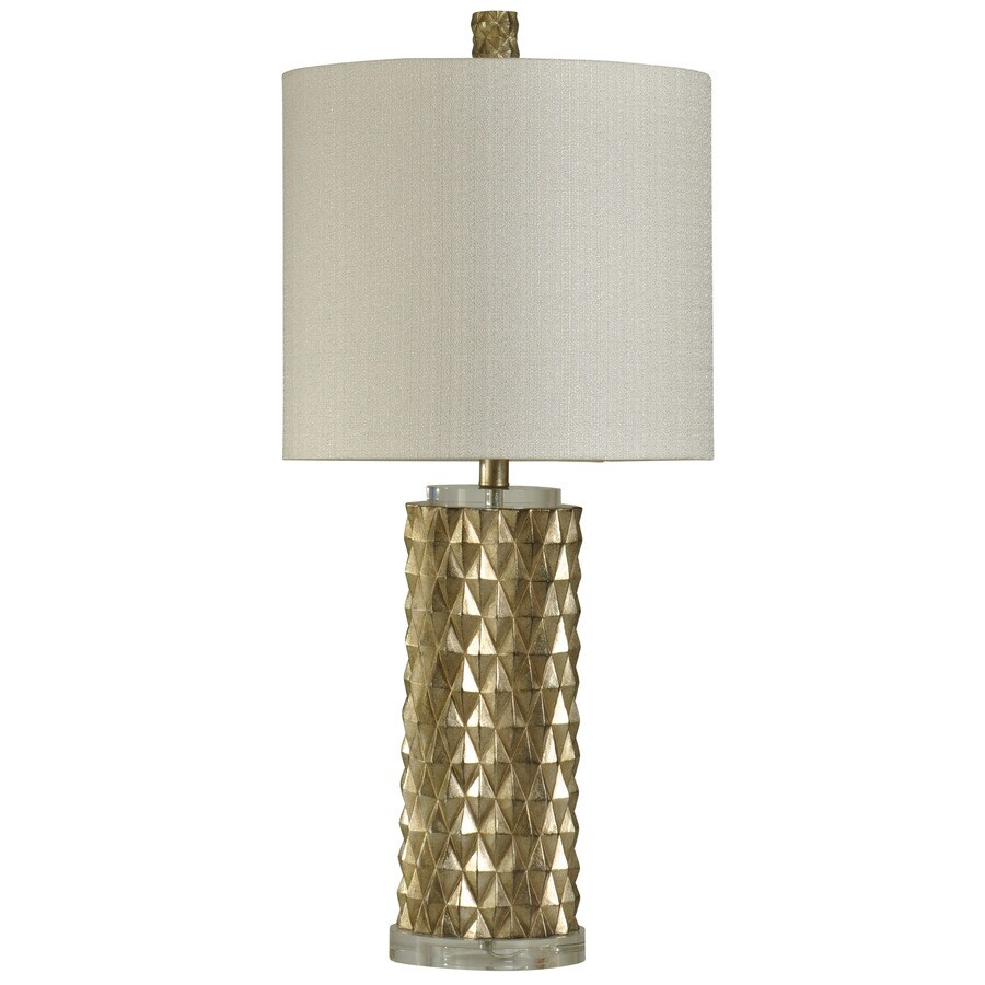 StyleCraft Home Collection 32-in Devonshire Standard 3-Way Switch Table Lamp with Fabric Shade