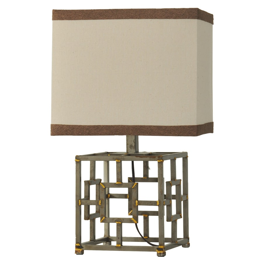StyleCraft Home Collection 23-in 3-Way Switch Lingen Indoor Table Lamp with Fabric Shade
