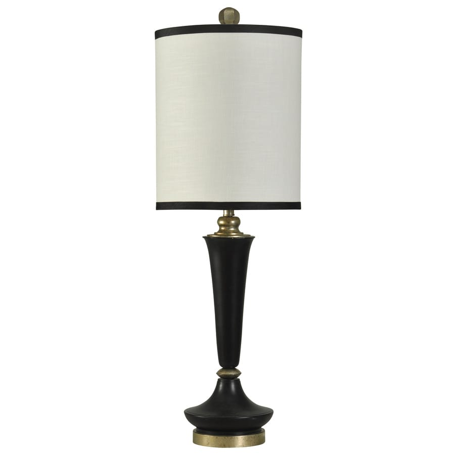 StyleCraft Home Collection 39-in Kingston Standard 3-Way Switch Table Lamp with Fabric Shade