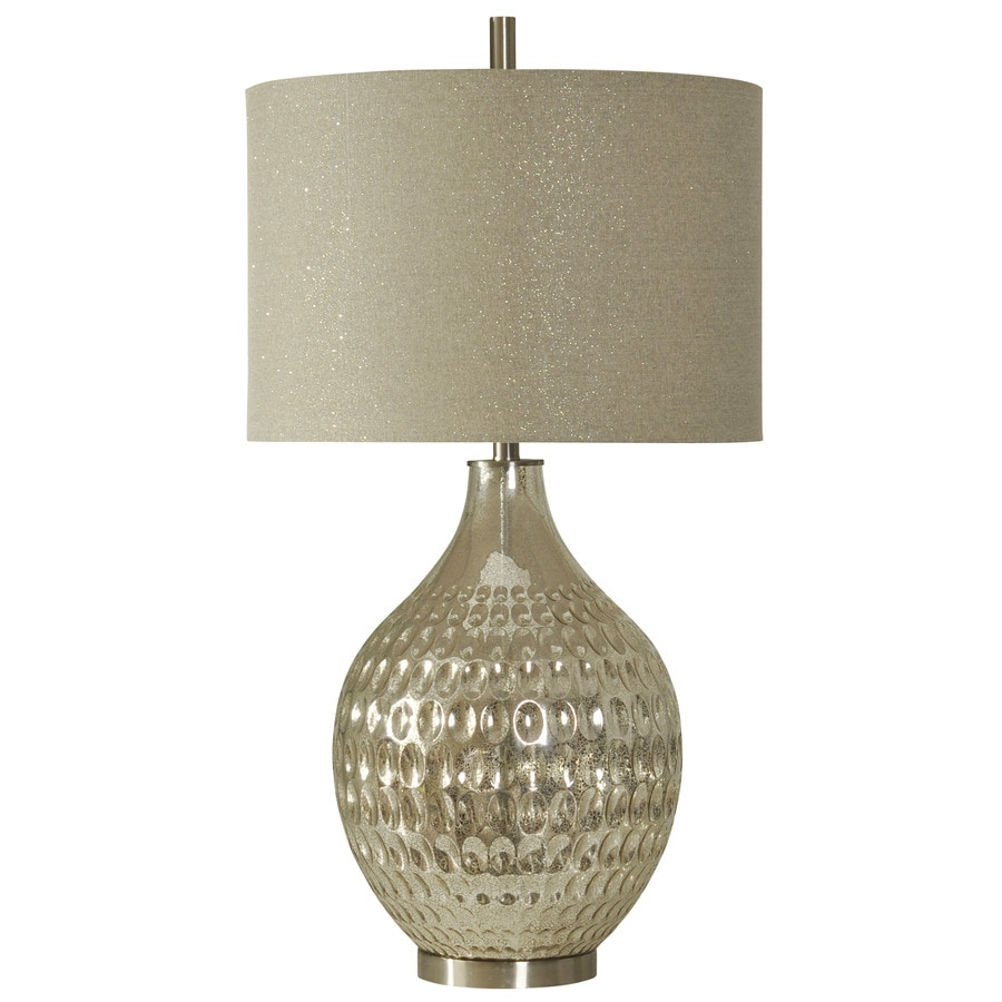 StyleCraft Home Collection 35-in Northbay Standard 3-Way Switch Table Lamp with Fabric Shade