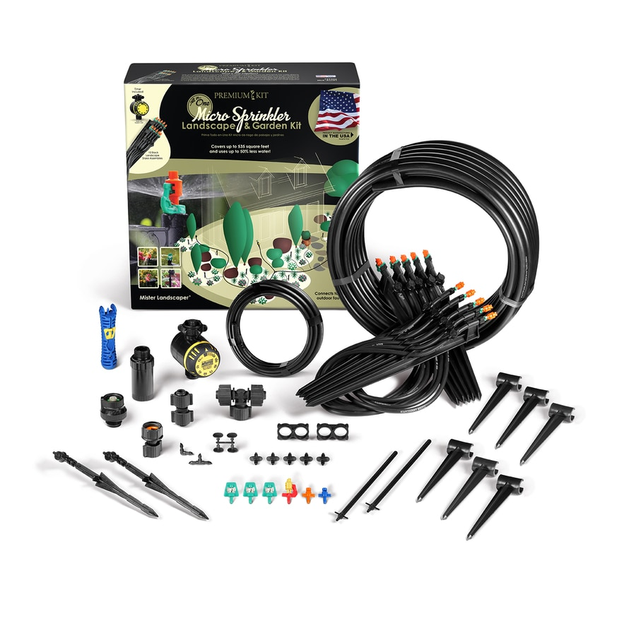 Shop mister landscaper drip irrigation micro spray kit at
