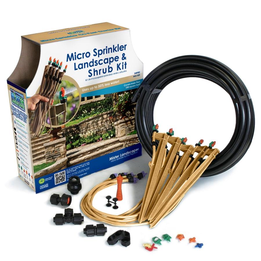 Mister Landscaper Drip Irrigation Landscape Kit