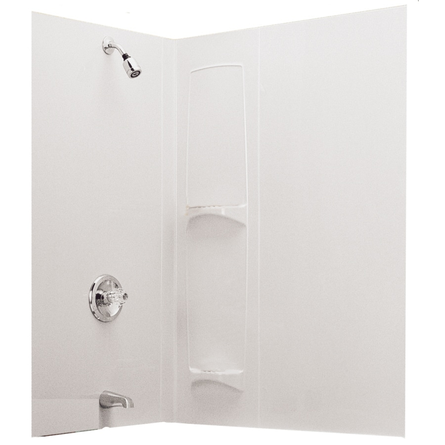 ASB 60-in W x 57-in H Shower Wall Surround Back Panel