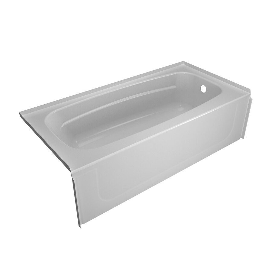 Shop Peerless Selva High-Gloss White High-Impact Polystyrene ...