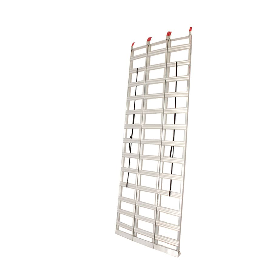 Better Built 3.8-ft x 7.6-ft 1500-lb Capacity Aluminum Loading Ramp