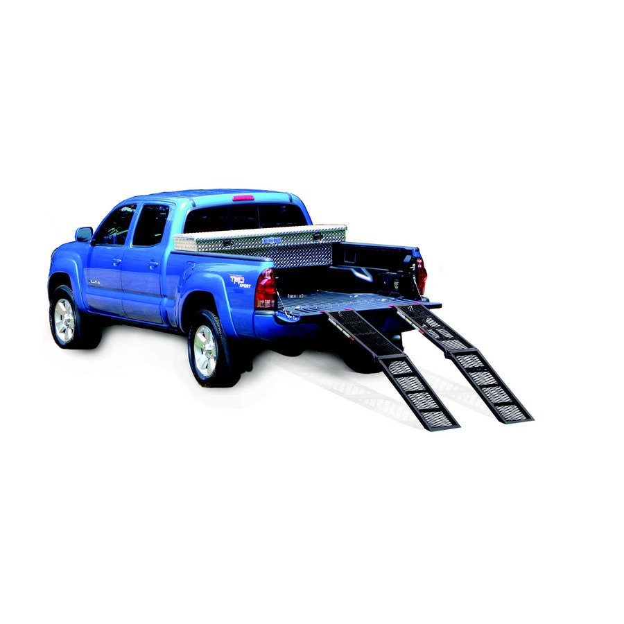 Better Built Steel Black Powder-Coated Center-Fold Utility Loading Ramp