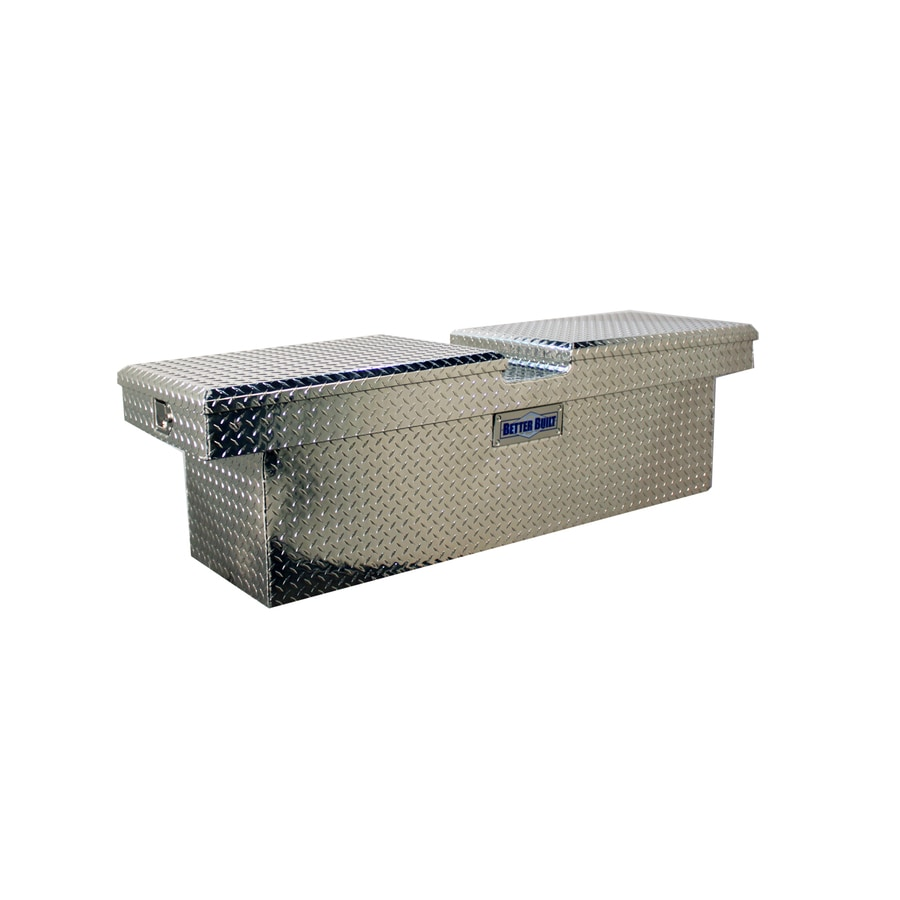 Better Built 63-in x 20-in x 19-in Aluminum Mid-Size Truck Tool Box
