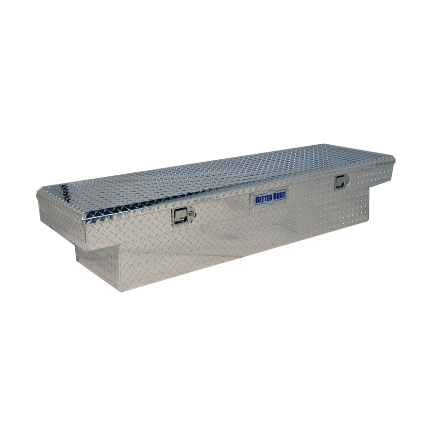 Better Built 63-in x 20-in x 13-in Aluminum Mid-Size Truck Tool Box