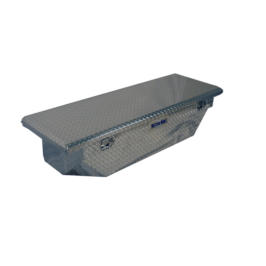 Better Built 61-in x 20-in x 13-in Aluminum Mid-Size Truck Tool Box