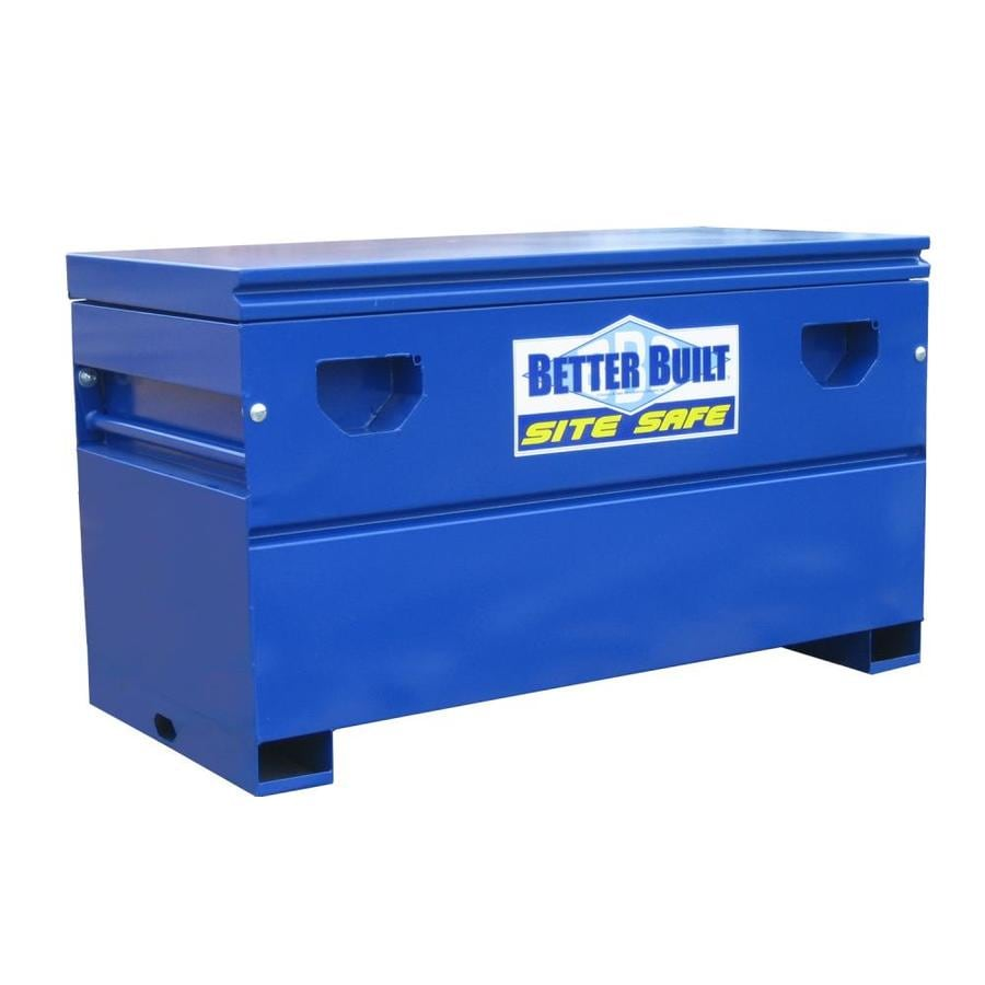 Better Built Better Built Site Safe 23-in W x 48-in L x 25-in Steel Jobsite Box