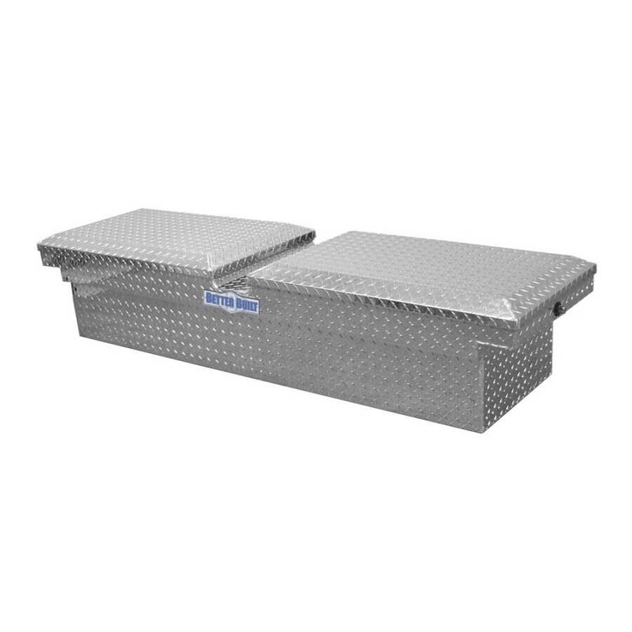 Better Built 60-in Silver Aluminum Truck Tool Box